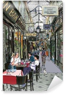 Papier Peint Vinyle Passage à Paris