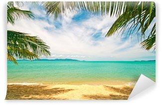 Papier Peint Vinyle Plage tropicale: Chaweng Beach à Koh Samui