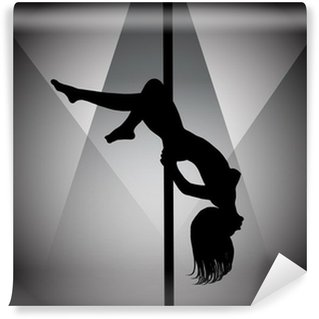 Papier Peint Vinyle Pole dancer