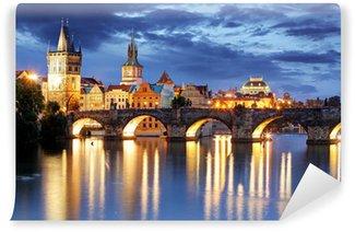 Papier Peint Vinyle Pont Charles, République tchèque - Prague