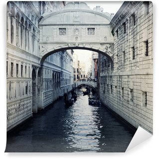 Papier Peint Vinyle Pont des Soupirs à Venise