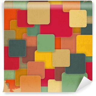 Papier Peint Vinyle Retro Background