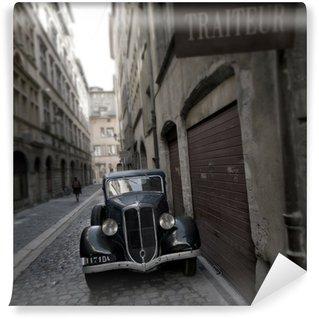 Papier Peint Vinyle Retro car