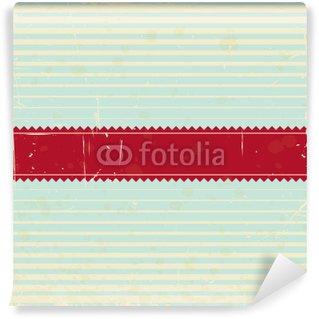 Papier Peint Vinyle Rétro carte