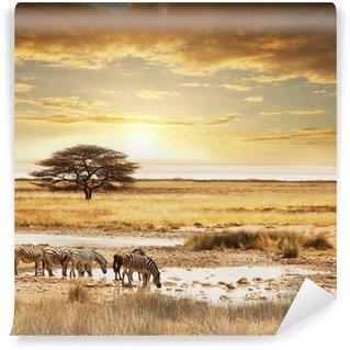 Papier Peint Vinyle Safari