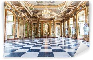Papier Peint Vinyle Salle des Ambassadeurs au Palais national de Queluz, Portugal