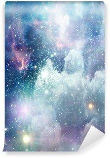 Papier Peint Vinyle Scène de l'espace profond