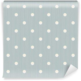 Papier Peint Vinyle Seamless background avec des lignes et des points de polka