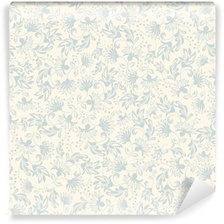 Papier Peint Vinyle Seamless background avec des ornements beige