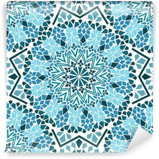 Papier Peint Vinyle Seamless des mosaïques marocaines