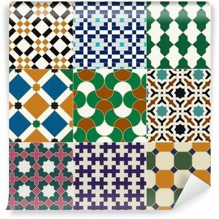 Papier Peint Vinyle Seamless islamique motif géométrique
