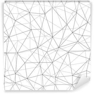 Papier Peint Vinyle Sieć bezszwowe tło WEKTOR
