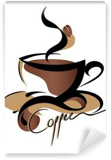 Papier Peint Vinyle Signe de café