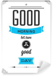 Papier Peint Vinyle Slogan de motivation