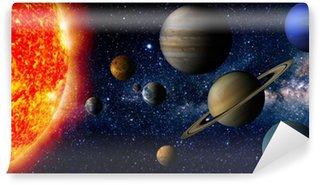 Papier Peint Vinyle Solar system