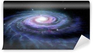 Papier Peint Vinyle Spiral Galaxy Milky Way