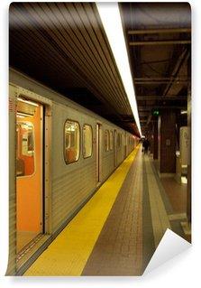 Papier Peint Vinyle Station de métro