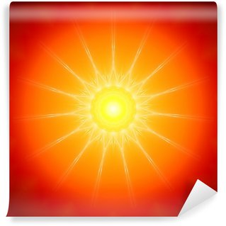 Papier Peint Vinyle Sun Mandala