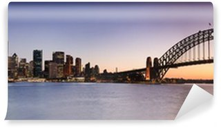 Papier Peint Vinyle Sydney CBD de Kirribilli Set Panor