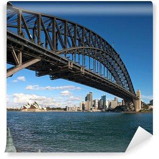 Papier Peint Vinyle Sydney Harbour Bridge, à l'aube