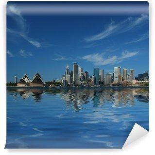 Papier Peint Vinyle Sydney réflexions de la ville