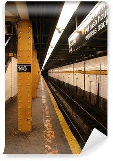 Papier Peint Vinyle Système de métro