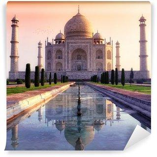 Papier Peint Vinyle Taj Mahal à Agra