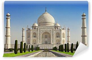 Papier Peint Vinyle Taj Mahal dans la lumière du lever du soleil