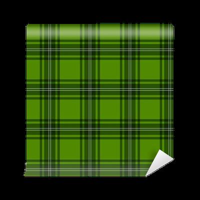 papier peint tartan cossais vert pixers nous vivons pour changer. Black Bedroom Furniture Sets. Home Design Ideas