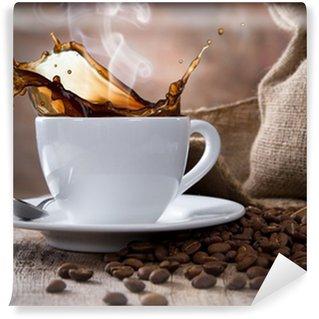 Papier Peint Vinyle Tasse à café