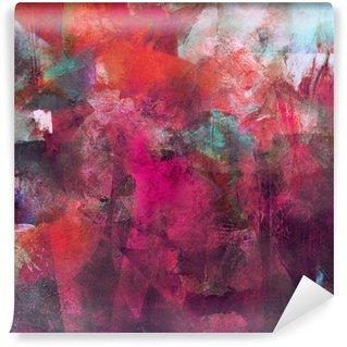 Papier Peint Vinyle Textur cyan de la pourriture rose