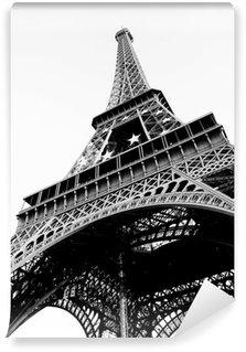 Papier Peint Vinyle Tour Eiffel Noir / Blanc