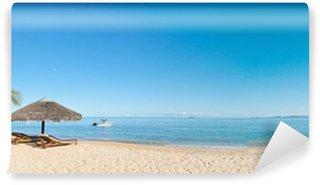 Papier Peint Vinyle Tropical beach panorama
