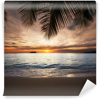 Papier Peint Vinyle Tropical beach