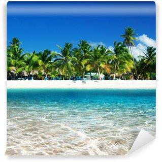 Papier Peint Vinyle Tropical beach