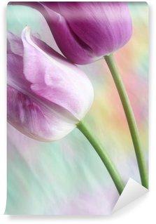 Papier Peint Vinyle Tulipes de rêve