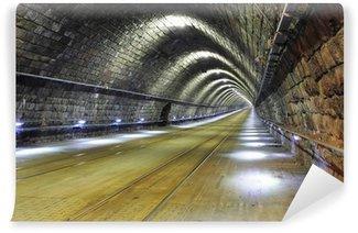Papier Peint Vinyle Tunnel - métro