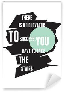 Papier Peint Vinyle Typographie motivation pour Inspirational