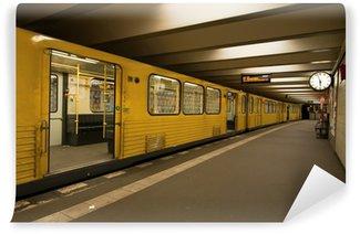 Papier Peint Vinyle U-Bahn-Station