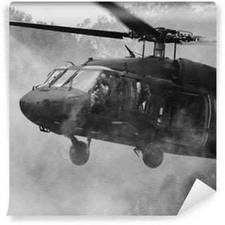 Papier Peint Vinyle UH-60 Blackhawk Hélicoptère
