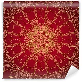 Papier Peint Vinyle Vecteur dentelle motif rond