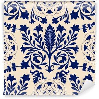 Papier Peint Vinyle Vector damassé seamless, walpapper classique, fond