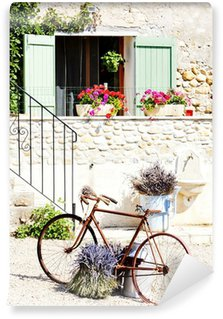Papier Peint Vinyle Vélo, Provence, France