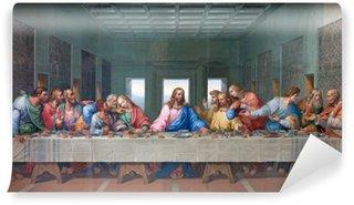 Papier Peint Vinyle Vienne - Mosaïque de Cène - copie Leonardo da Vinci