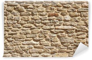 Papier Peint Vinyle Vieux fond de mur de pierre