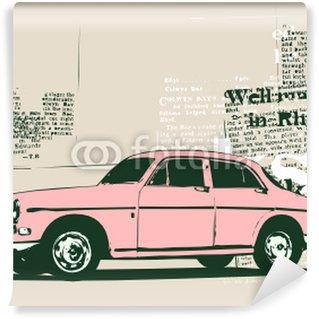Papier Peint Vinyle Vintage coutume de collection voiture