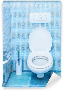 Papier Peint Vinyle WC dans la salle de bain