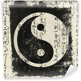 Papier Peint Vinyle Yin and yang