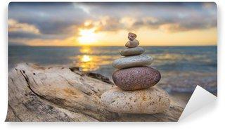 Papier Peint Vinyle Zen stones