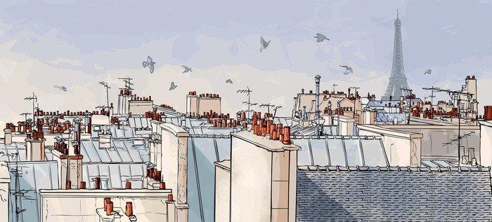 Paris france - dachy